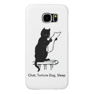 Chat, Torture Dog, Sleep Samsung Galaxy S6 Cases