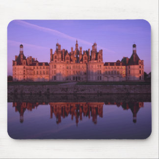 Chateau Chambord at sunset, Loire Valley, France Mousepad
