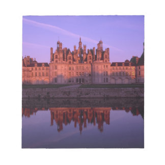 Chateau Chambord at sunset, Loire Valley, France Notepads
