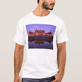 Chateau Chambord at sunset, Loire Valley, France T-Shirt