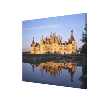 Chateau Chambord, Loire Valley, France Canvas Print