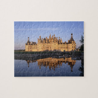Chateau Chambord, Loire Valley, France Jigsaw Puzzle