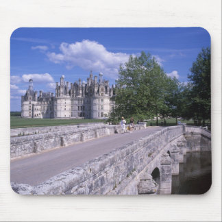 Chateau Chambord, Loire Valley, France Mouse Mat