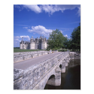 Chateau Chambord, Loire Valley, France Photo Print