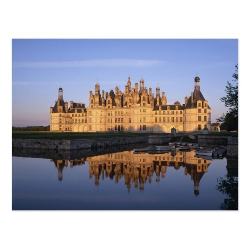Chateau Chambord, Loire Valley, France Postcards