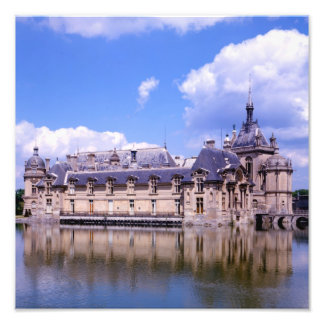 Chateau Chantilly, Oise, France Photographic Print