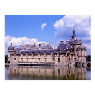 Chateau Chantilly, Oise, France Postcard