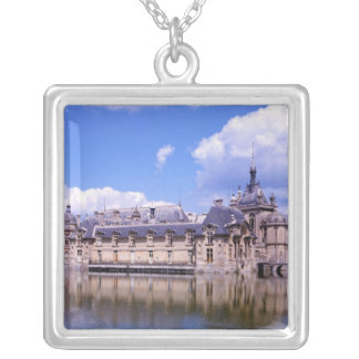Chateau Chantilly, Oise, France Silver Plated Necklace