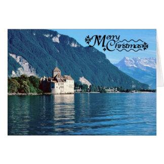 Chateau chinon, Lake Geneva 4 Card