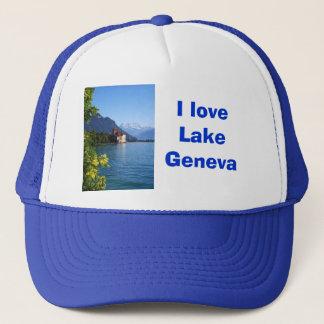 Chateau Chinon, Lake Geneva Trucker Hat