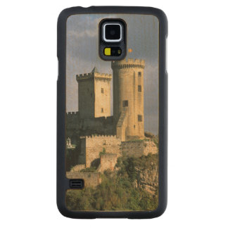 Chateau Comtal Chateau of the Counts of Carved Maple Galaxy S5 Case