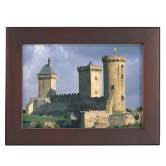 Chateau Comtal Chateau of the Counts of Keepsake Box