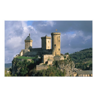 Chateau Comtal Chateau of the Counts of Photographic Print