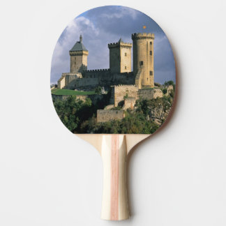 Chateau Comtal Chateau of the Counts of Ping Pong Paddle