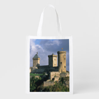 Chateau Comtal Chateau of the Counts of Reusable Grocery Bag