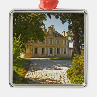 Chateau Cos Labory in Saint St Estephe, wrought Christmas Ornament