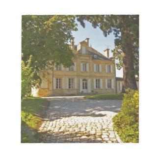 Chateau Cos Labory in Saint St Estephe, wrought Notepad
