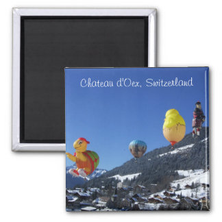 Chateau d Oex Switzerland Magnet