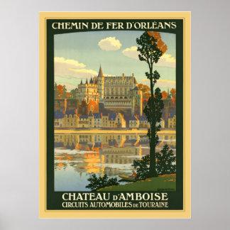 Chateau d'Amboise Poster