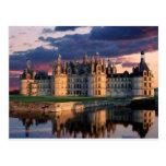 chateau de chambord Castle,Loire Valley, France Postcard