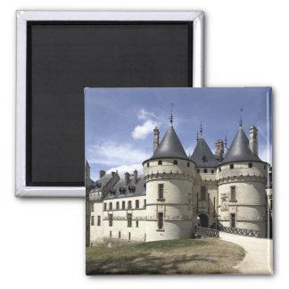 Chateau de Chaumont-Sur-Loire. Square Magnet