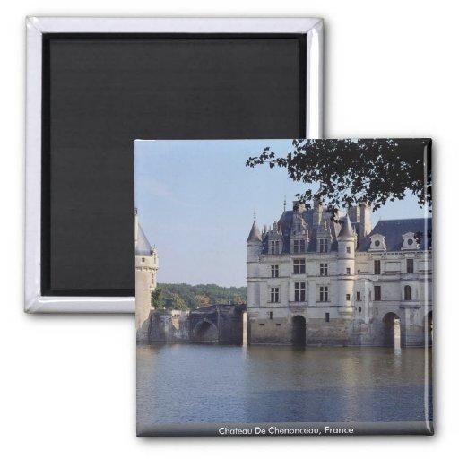 Chateau De Chenonceau, France Fridge Magnet