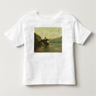 Chateau de Chillon, 1874 Toddler T-Shirt