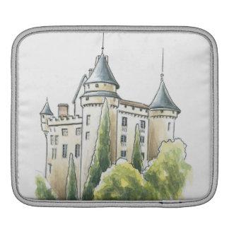 Chateau de Mercues, France iPad Sleeve
