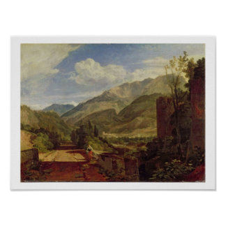 Chateau de St. Michael, Bonneville, Savoy, 1803 (o Poster