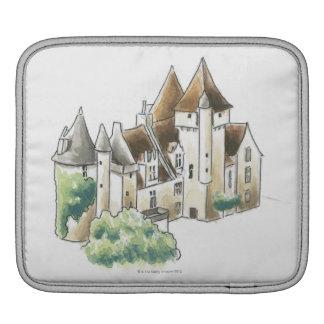 Chateau des Milandes, France iPad Sleeve