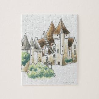 Chateau des Milandes, France Puzzles