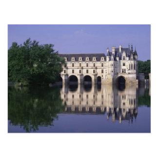 Chateau du Chenonceau, Loire Valley, Postcard