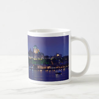 Chateau Frontenac Castle Hotel Night Quebec City Coffee Mug