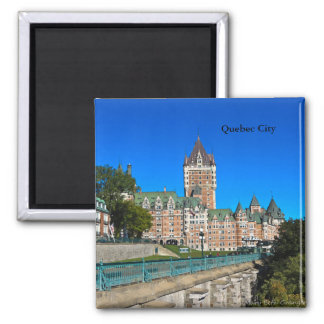Chateau Frontenac in Quebec City Magnet