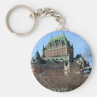 Château Frontenac, Québec, Canada Key Ring