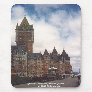 """""""Chateau Frontenac, Ville de Quebec"""" Mouse Mat"""