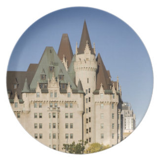 Chateau Laurier Hotel in Ottawa, Ontario, Canada Plate