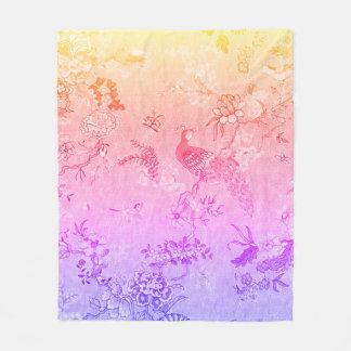 Chateau_Marie_Birds-Toile(c) MED-Cosy-Dreams_ Fleece Blanket