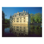 Chateau of Azay-le-Rideau, Indre-et-Loire, 3 Art Photo