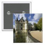 Chateau of Azay-le-Rideau, Indre-et-Loire, 3 Pinback Button