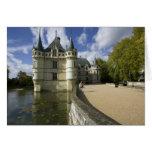 Chateau of Azay-le-Rideau, Indre-et-Loire, 3 Card