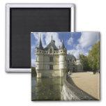 Chateau of Azay-le-Rideau, Indre-et-Loire, 3 Fridge Magnets