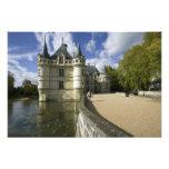 Chateau of Azay-le-Rideau, Indre-et-Loire, 3 Photographic Print