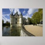 Chateau of Azay-le-Rideau, Indre-et-Loire, 3 Print