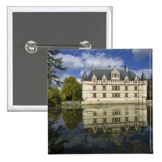 Chateau of Azay-le-Rideau, Indre-et-Loire, 4 Button