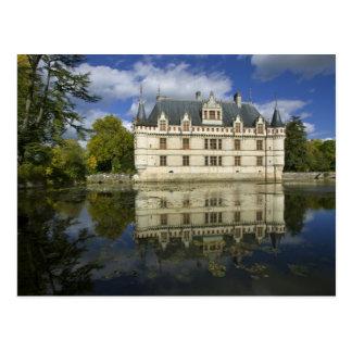 Chateau of Azay-le-Rideau, Indre-et-Loire, 4 Postcard