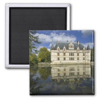 Chateau of Azay-le-Rideau, Indre-et-Loire, 4 Square Magnet