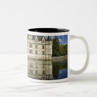 Chateau of Azay-le-Rideau, Indre-et-Loire, 4 Two-Tone Coffee Mug