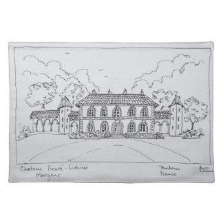 Chateau Prieure-Lichine, Margaux, Bordeaux Placemat