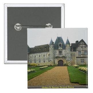 Chateau St. Germain, De-Levit, France Pin